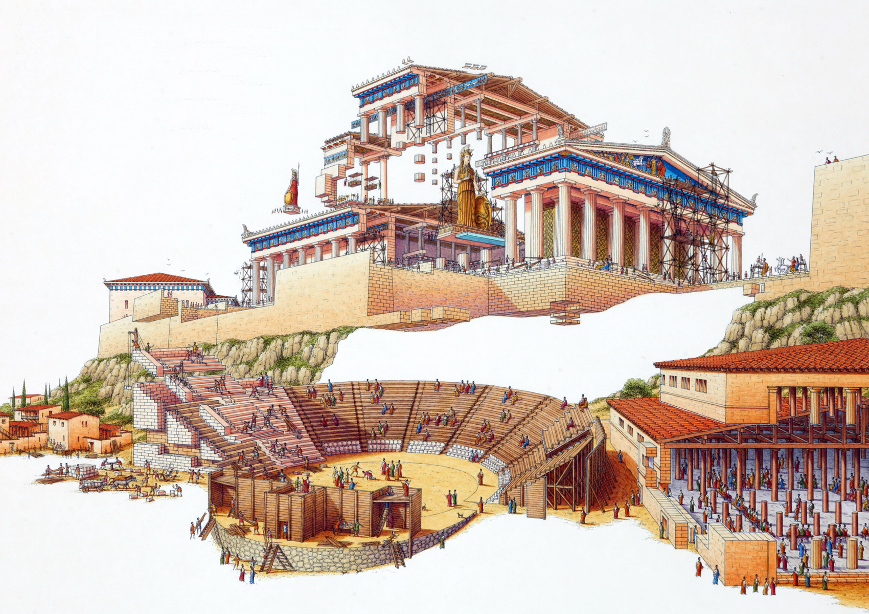 athens rome planning and structure essay School of athens essays: over home » essay » school of athens stanza della segnatura at the vatican palace in rome 4 / 1087: school of athens.
